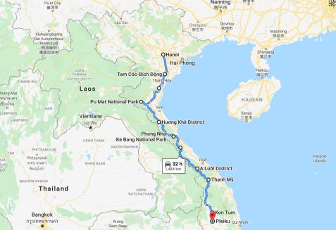 Hanoi - Kontum